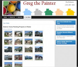 gregthepainter-website image